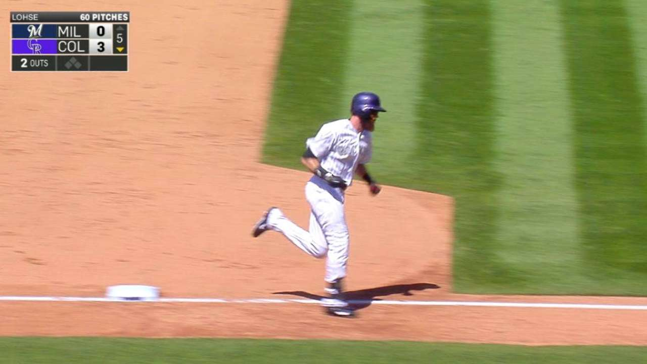 Blackmon's two-run shot