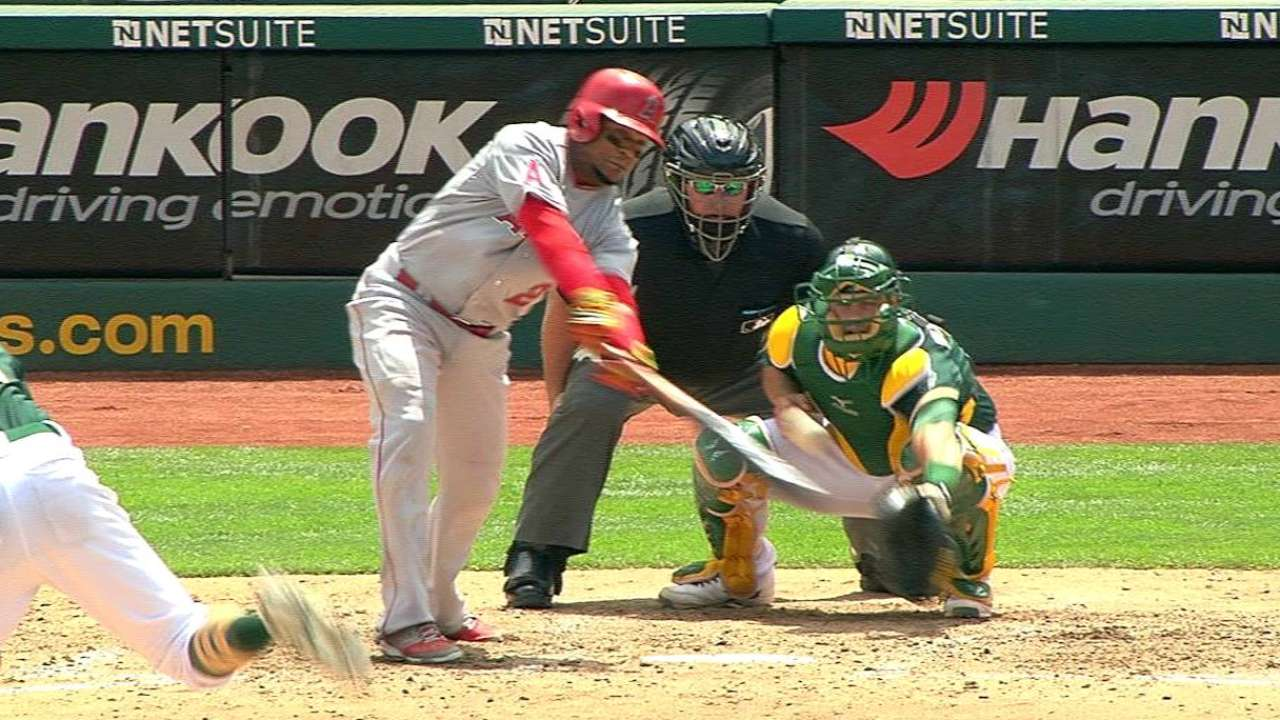 Inconsistent offense continues to stall Angels