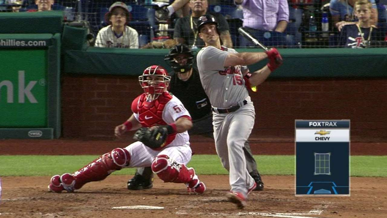 Grichuk propels Cardinals with two home runs
