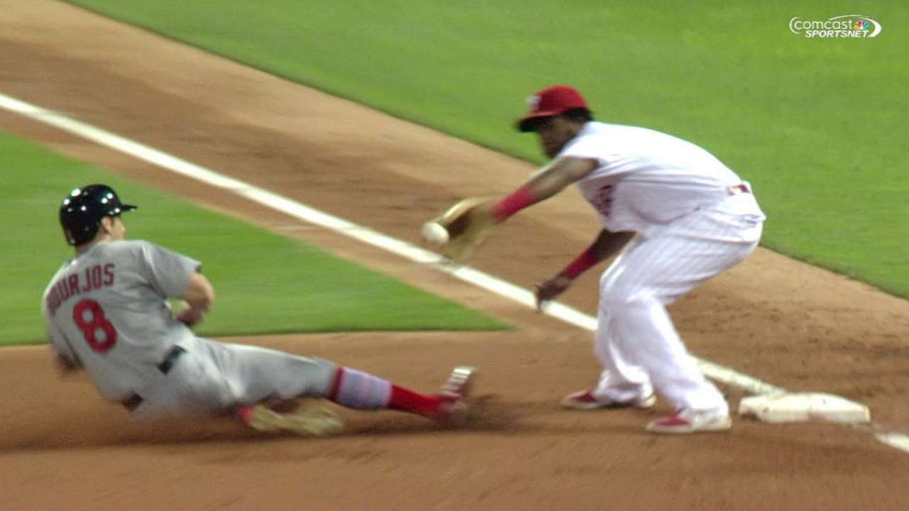 Asche, Utley dealing with season's ups and downs