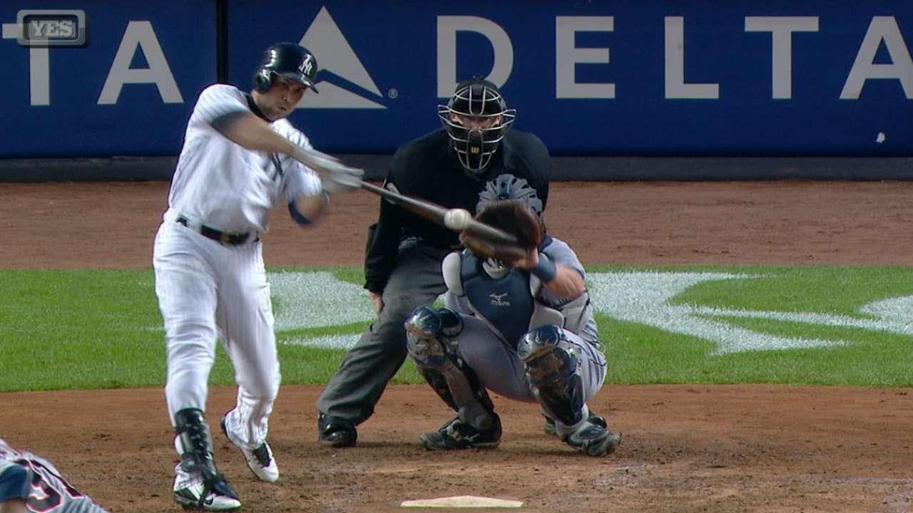 Beltran hits 2 homers as Yanks rout Tigers