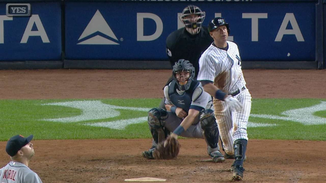 A-Rod's five-RBI game