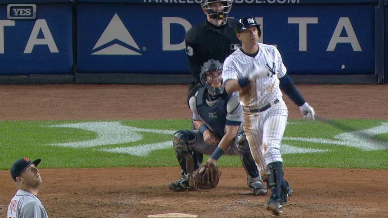 Yanks' five-homer game