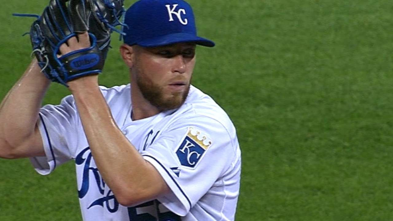 Royals' bullpen continues as one tough unit