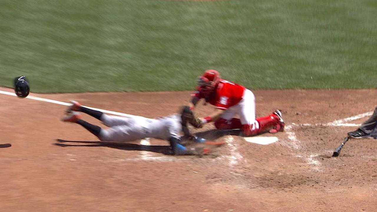 Reds get Gordon at home reviewed