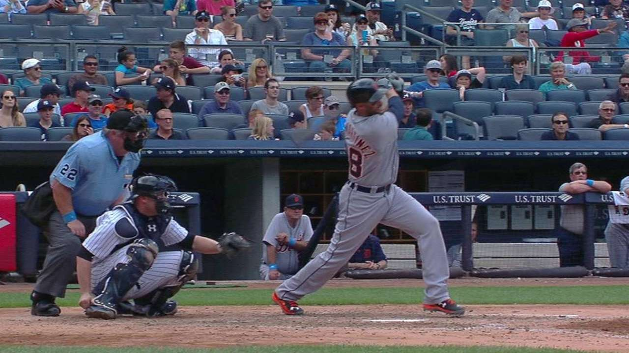 J.D. Martinez's second home run