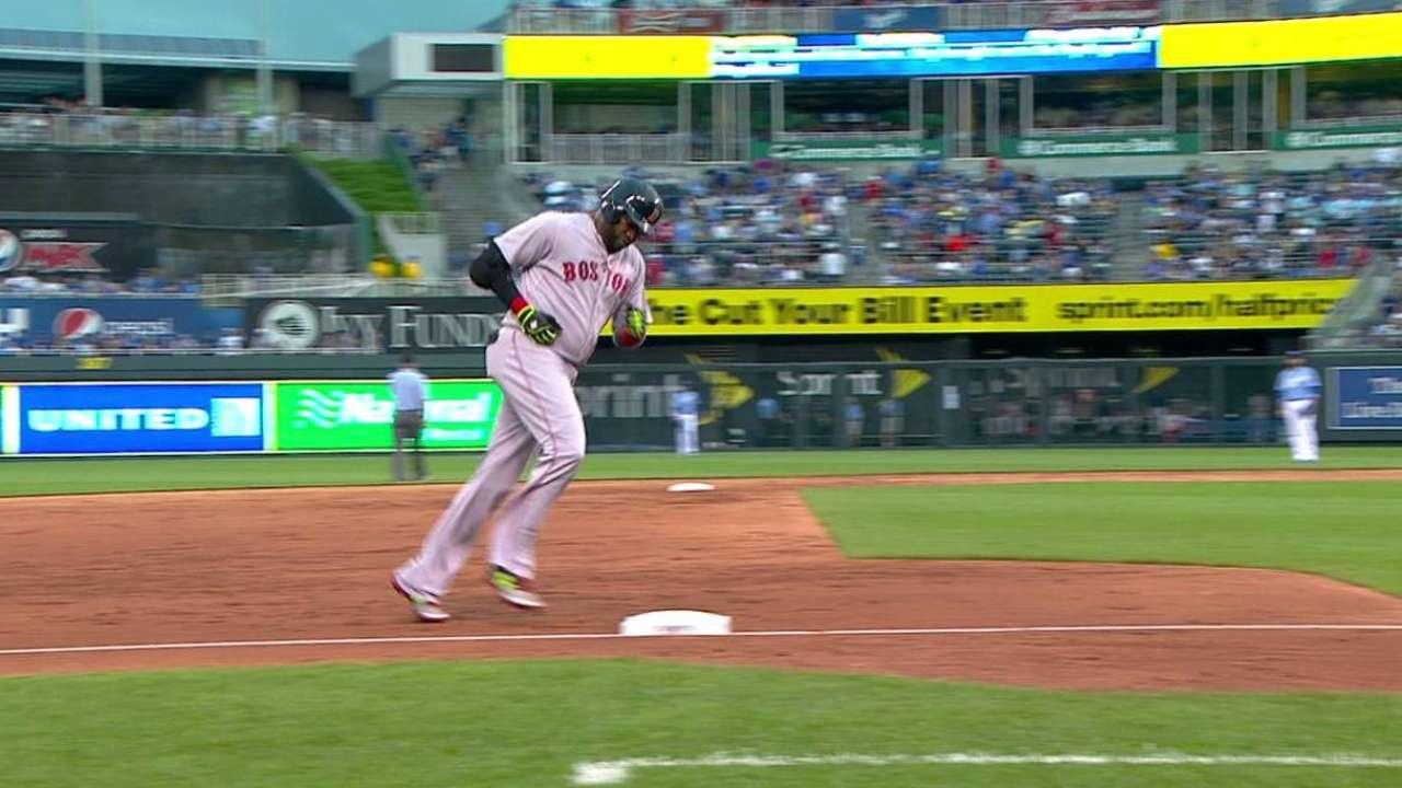 Ortiz's solo blast