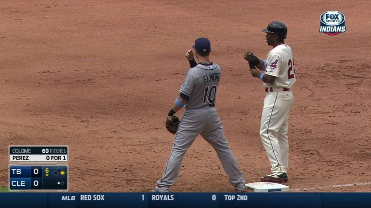 Bourn breaks up perfect game