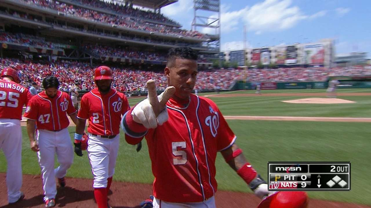 Nats' monster 1st inning