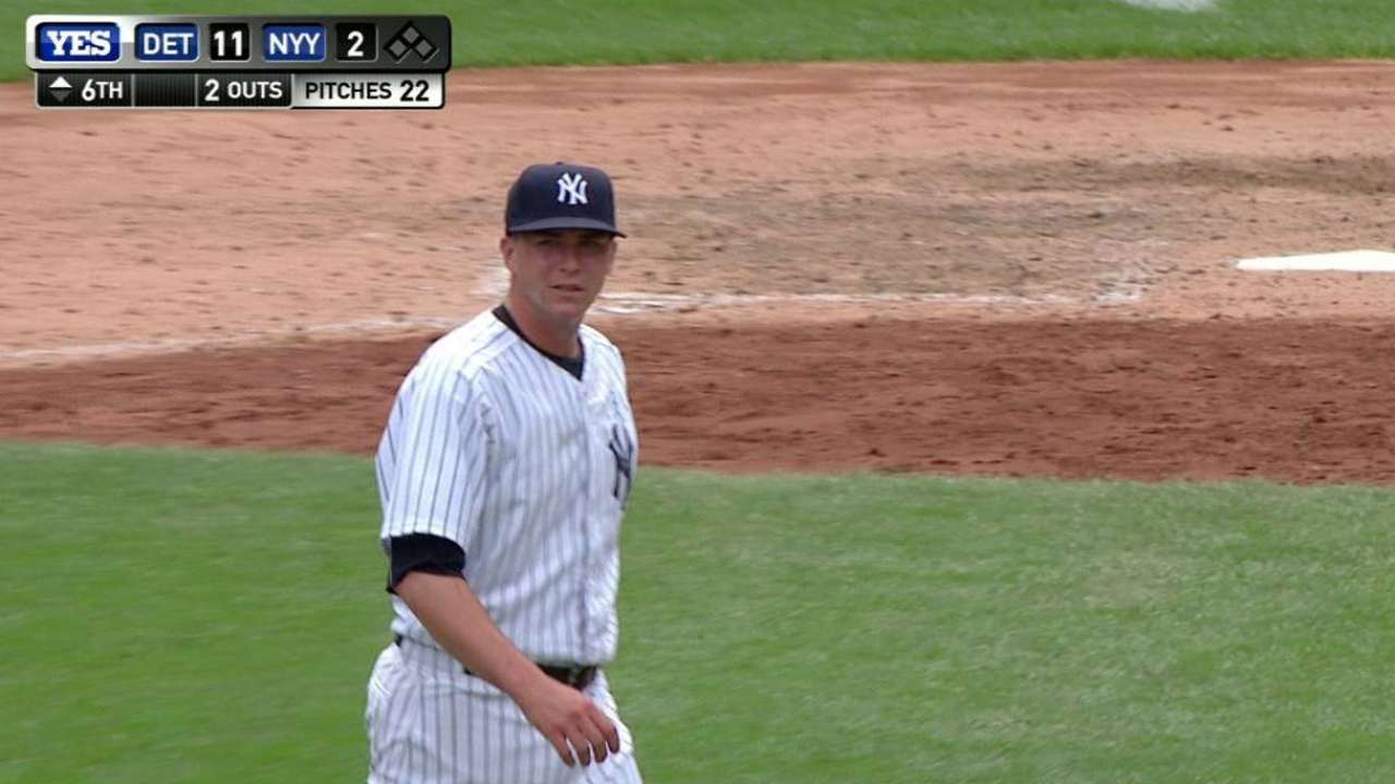 Burawa's first career strikeout