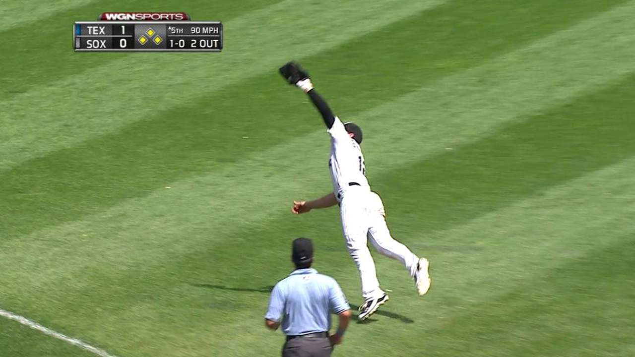 Gillaspie's diving catch