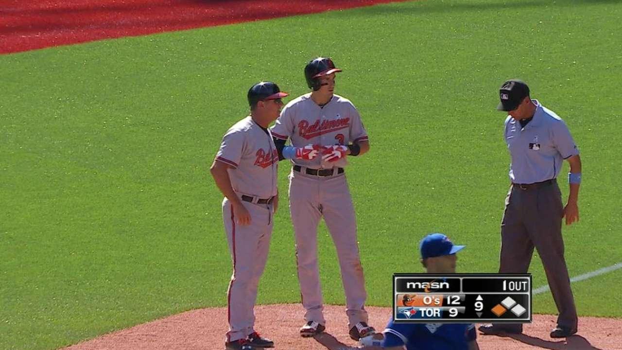 Flaherty's two-run triple