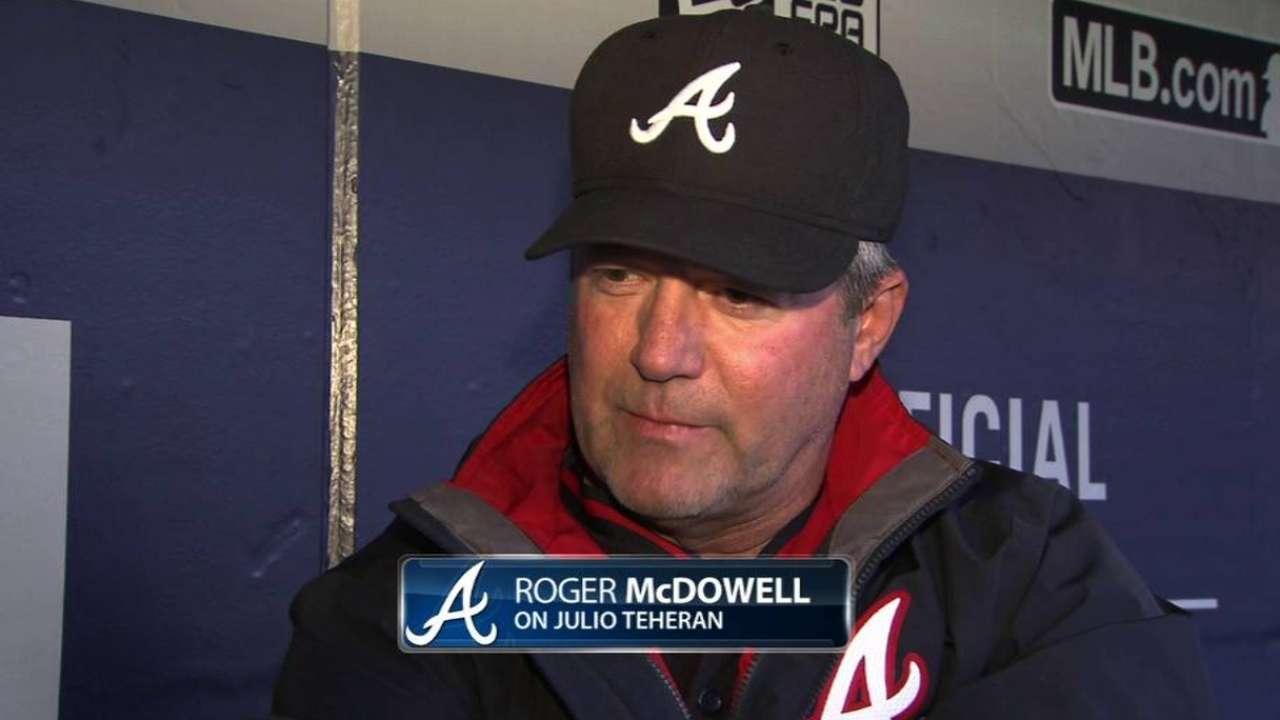 McDowell on Teheran's season