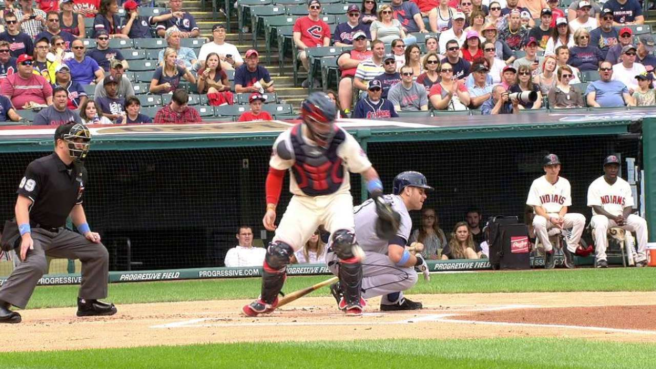 Anderson's first ML strikeout