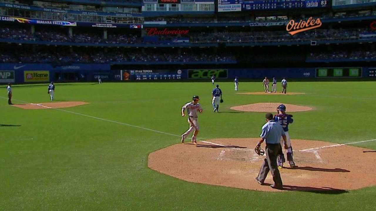 O's weather Blue Jays' rally to take series
