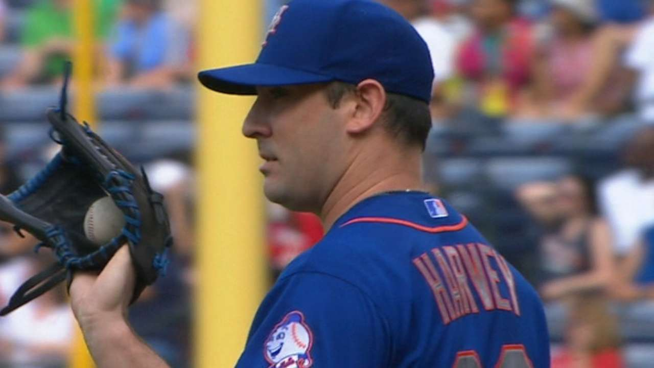 Harvey's solid 6 2/3 innings