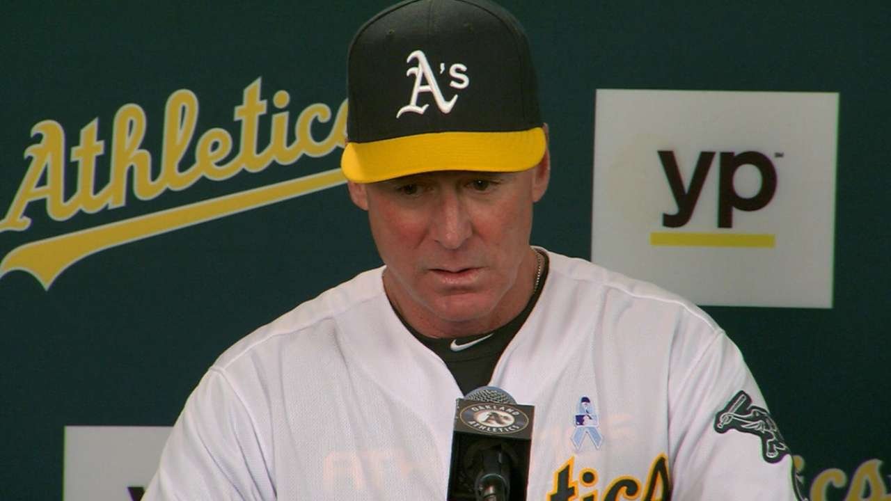 Melvin on A's 3-2 victory