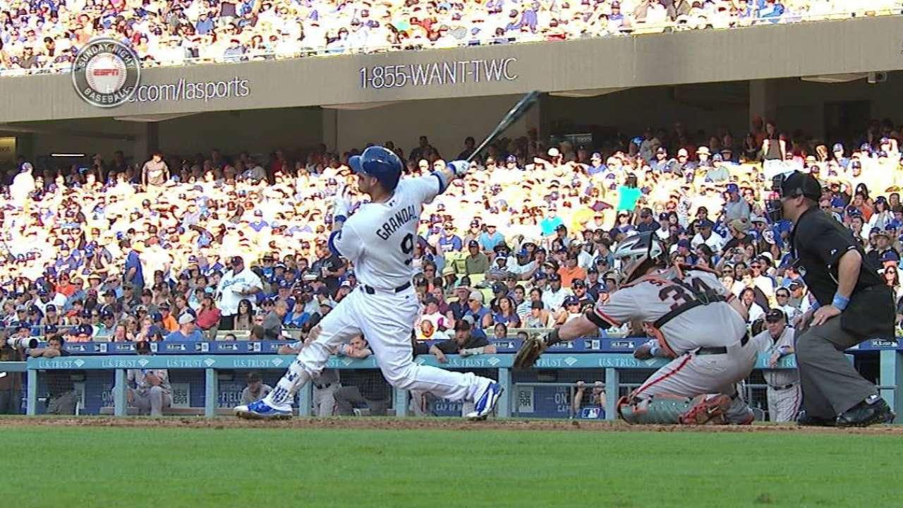 Grandal's second homer