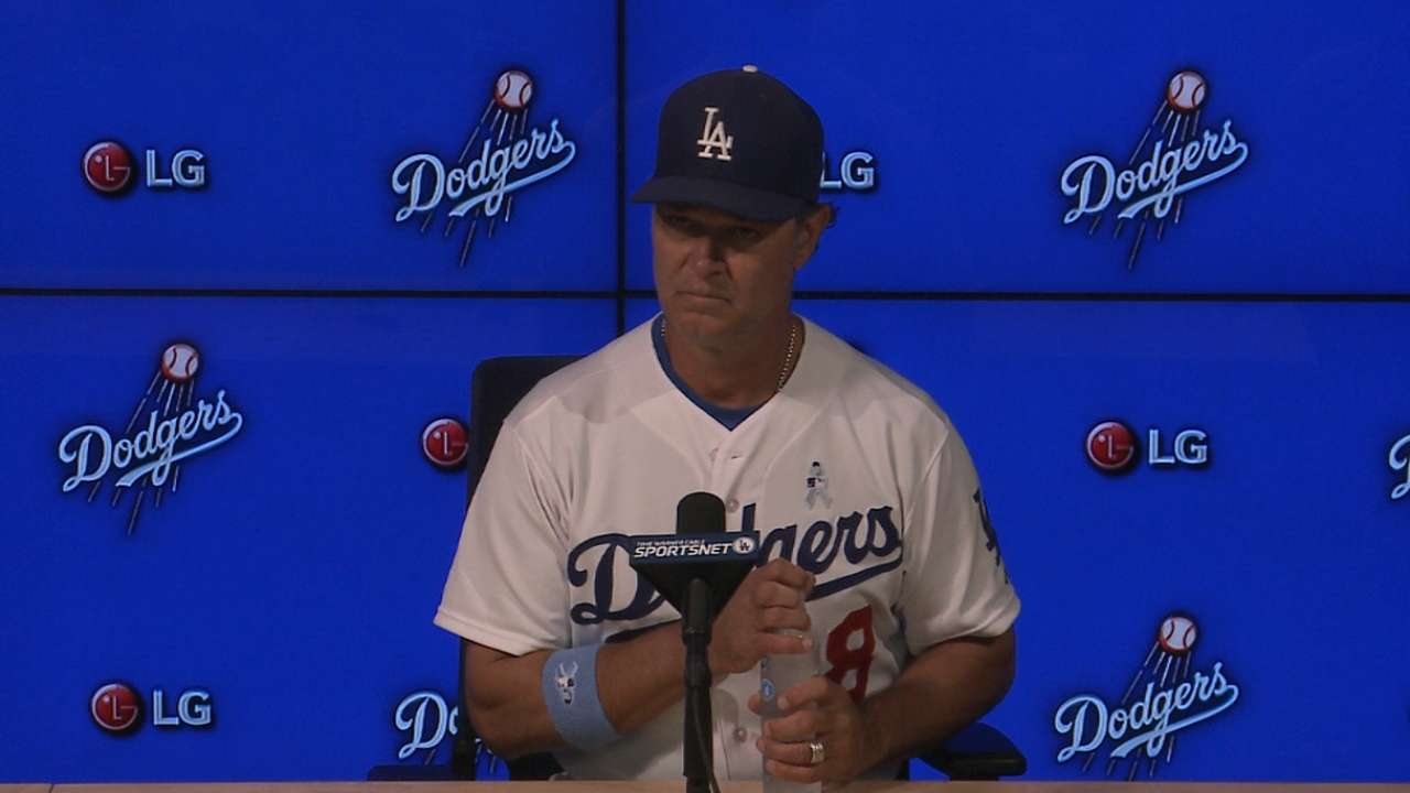 Mattingly on rout of Giants