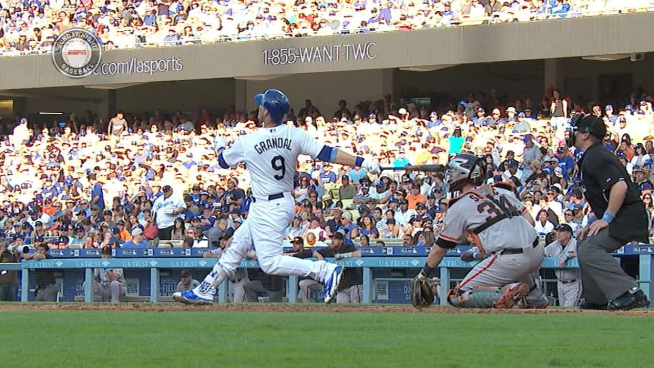 Grandal's two-homer game