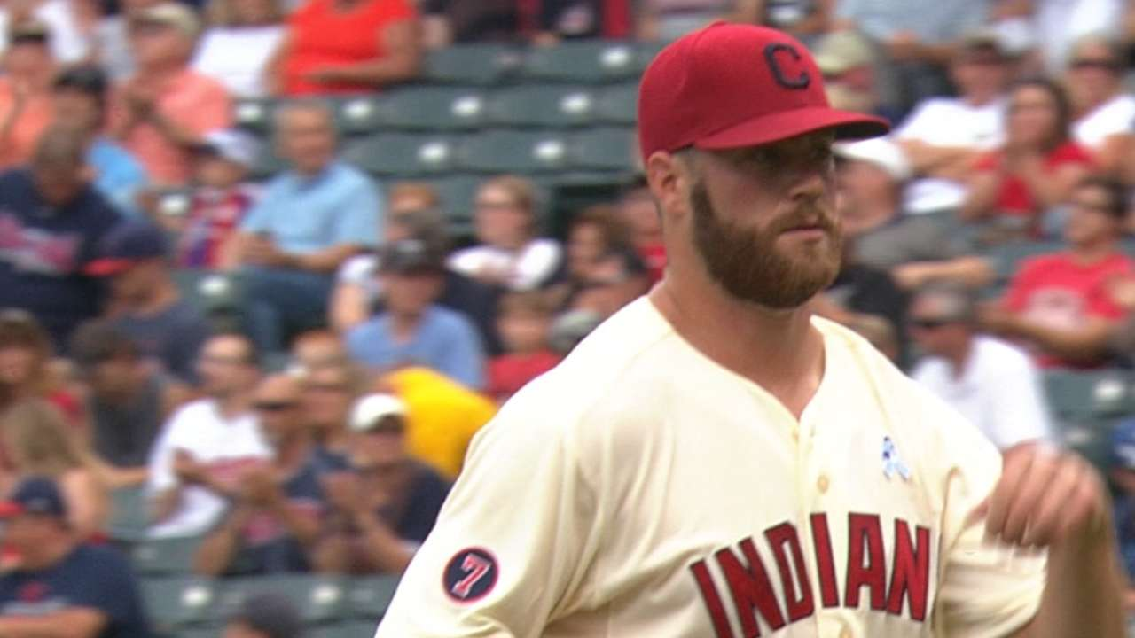 Anderson, Murphy help Tribe walk off vs. Rays