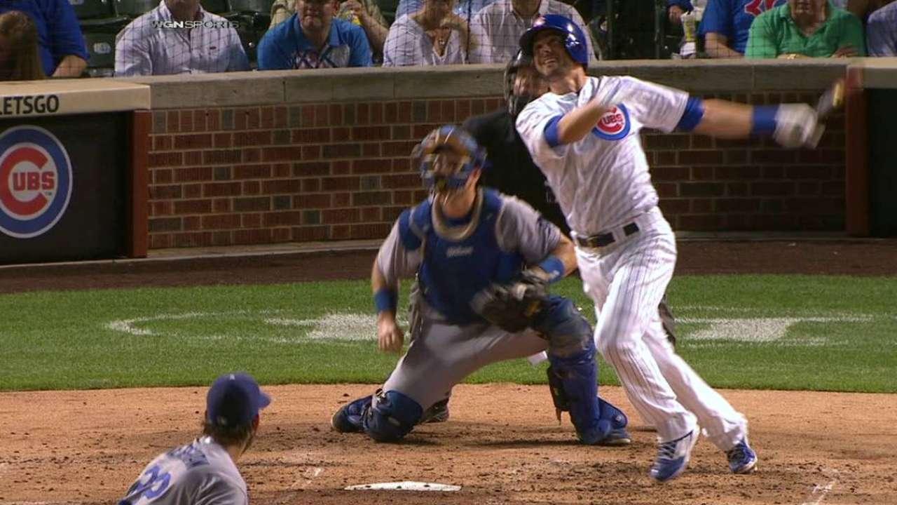 Bryant, Cubs go deep to top Kershaw, LA