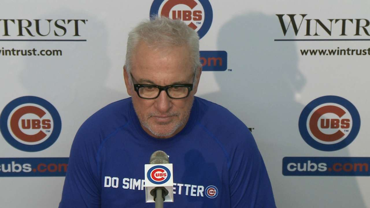 Maddon on protest, Wada