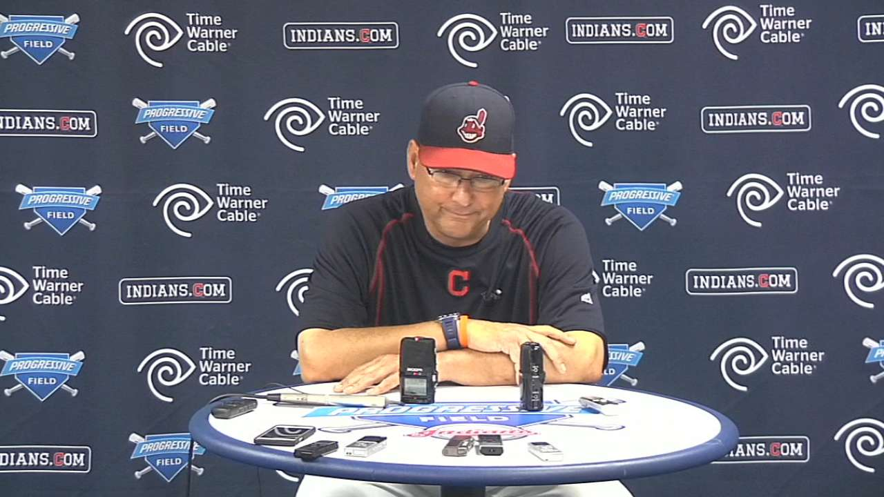 Francona on Bauer's tough outing