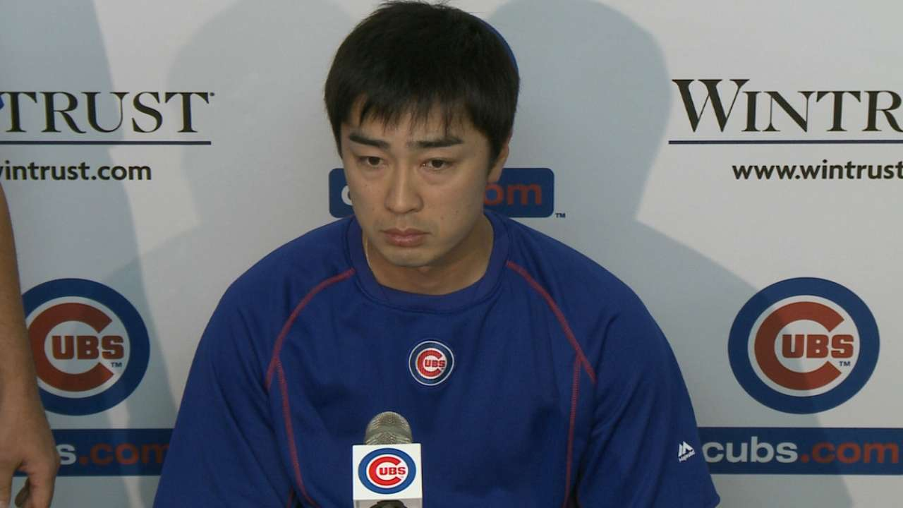 Wada talks about his shoulder
