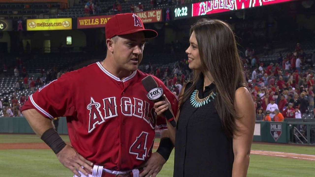 Robertson on the Angels' win