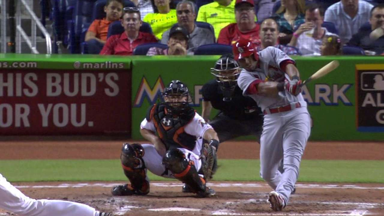 Scruggs' game-tying double
