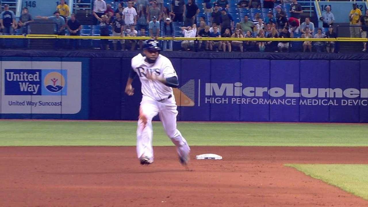 Butler's run scored on error