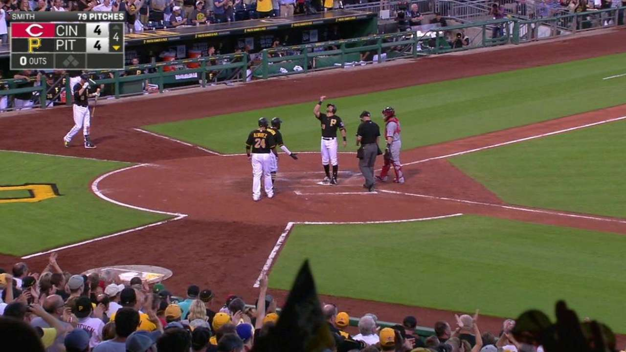Cervelli's three-run homer