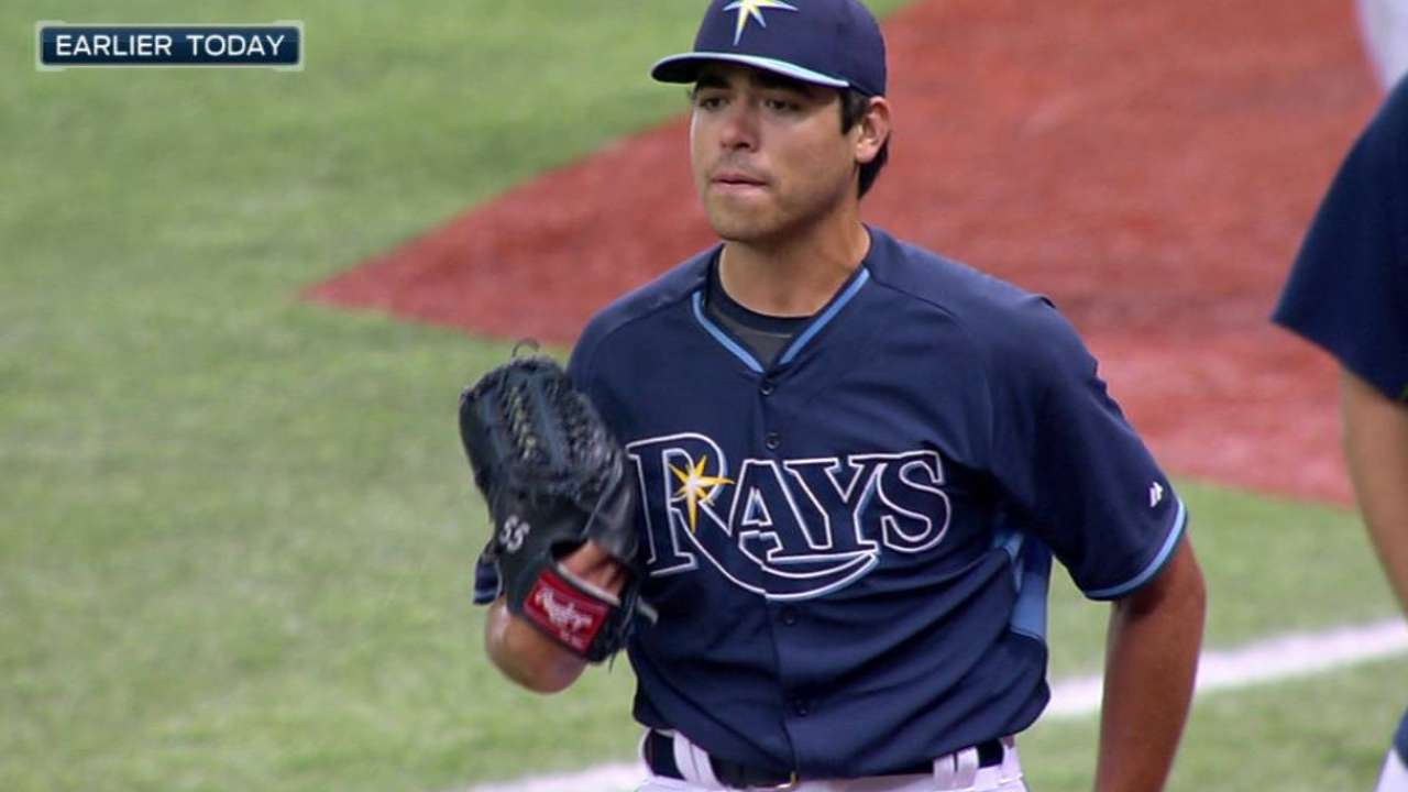 Moore, Odorizzi close to rejoining Rays