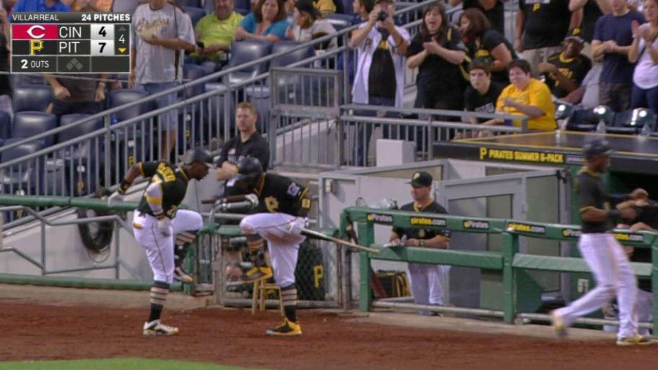 Cutch's two-run homer