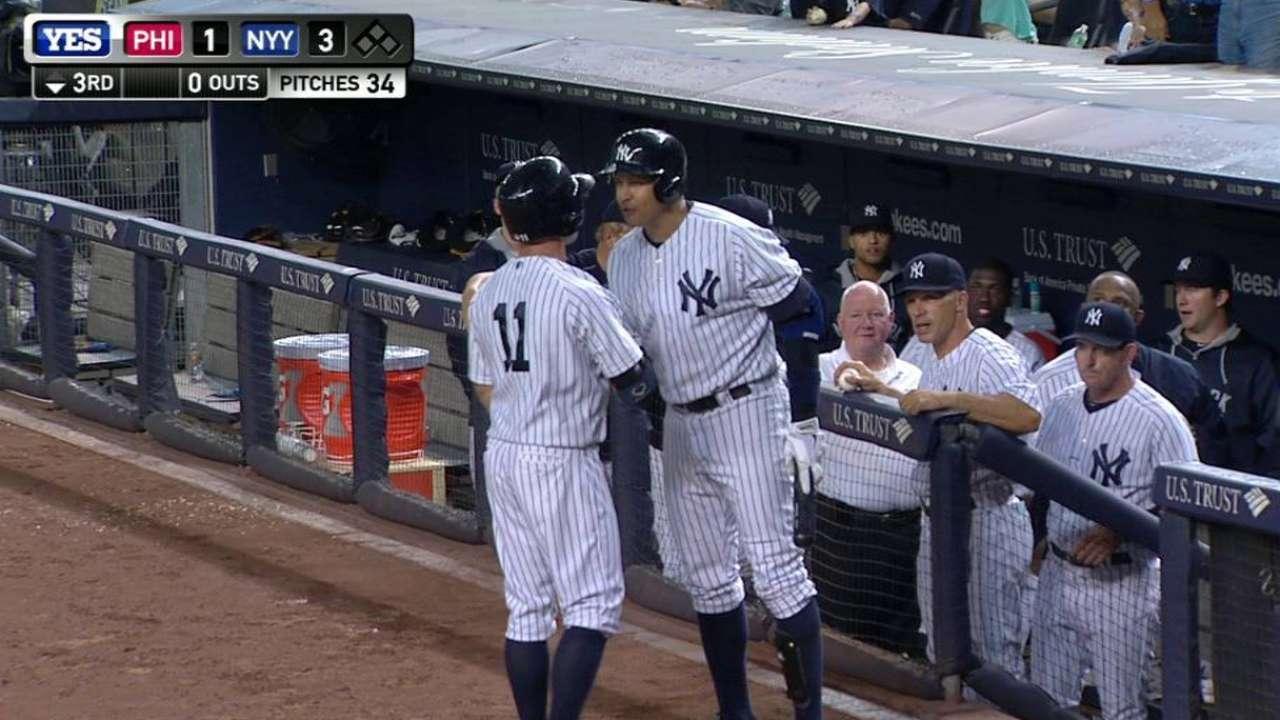 Gardner's solo home run