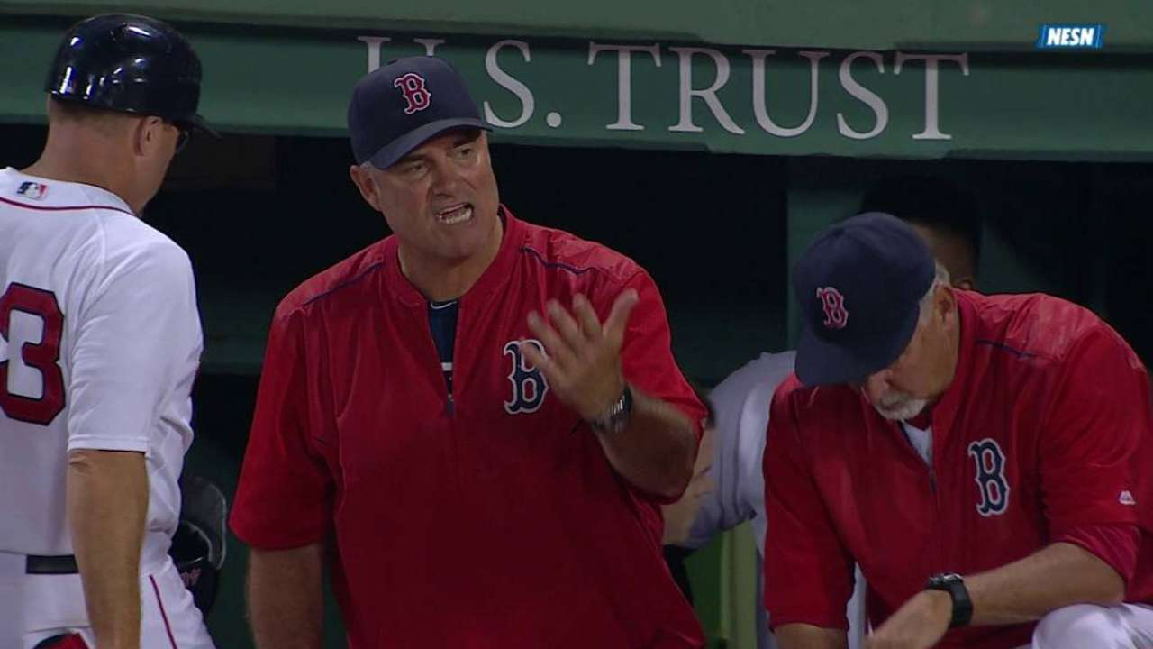 Farrell ejected from the game