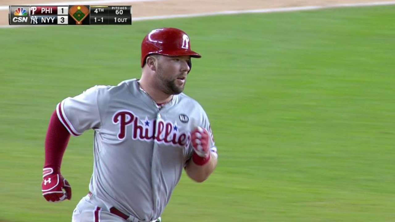 First career HR something for Rupp to savor