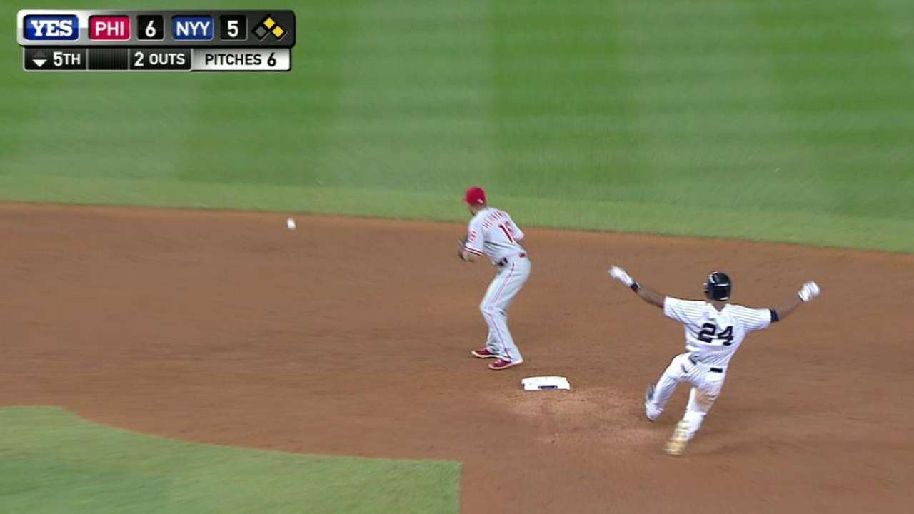 Young's RBI double