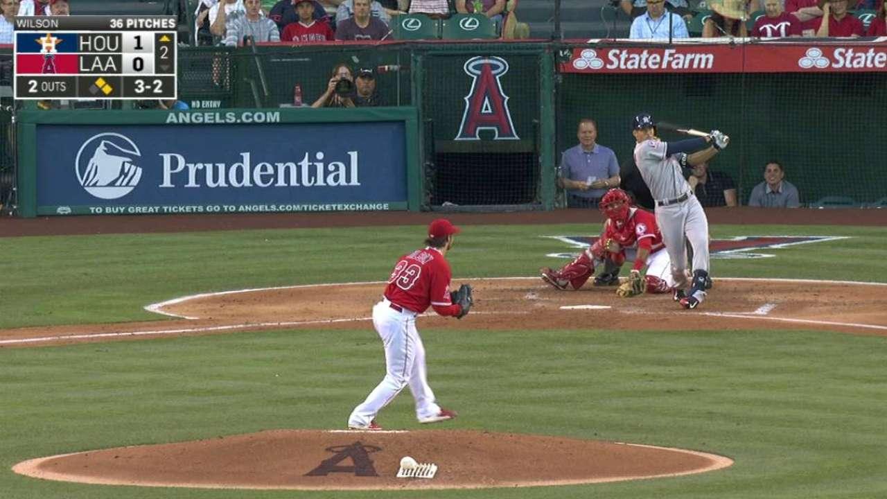 Correa's three-run blast