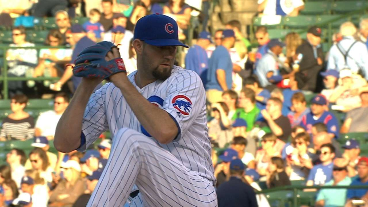 Hammel: Fastball command yielding results
