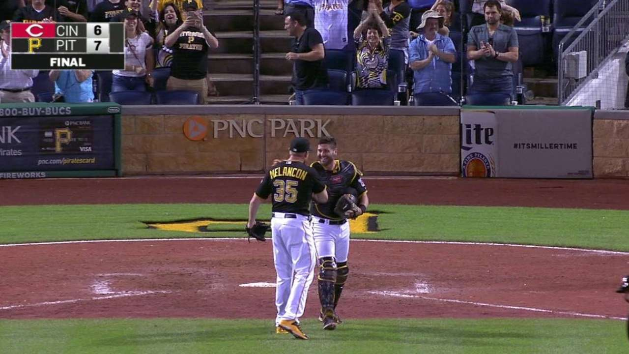 Melancon shuts the door