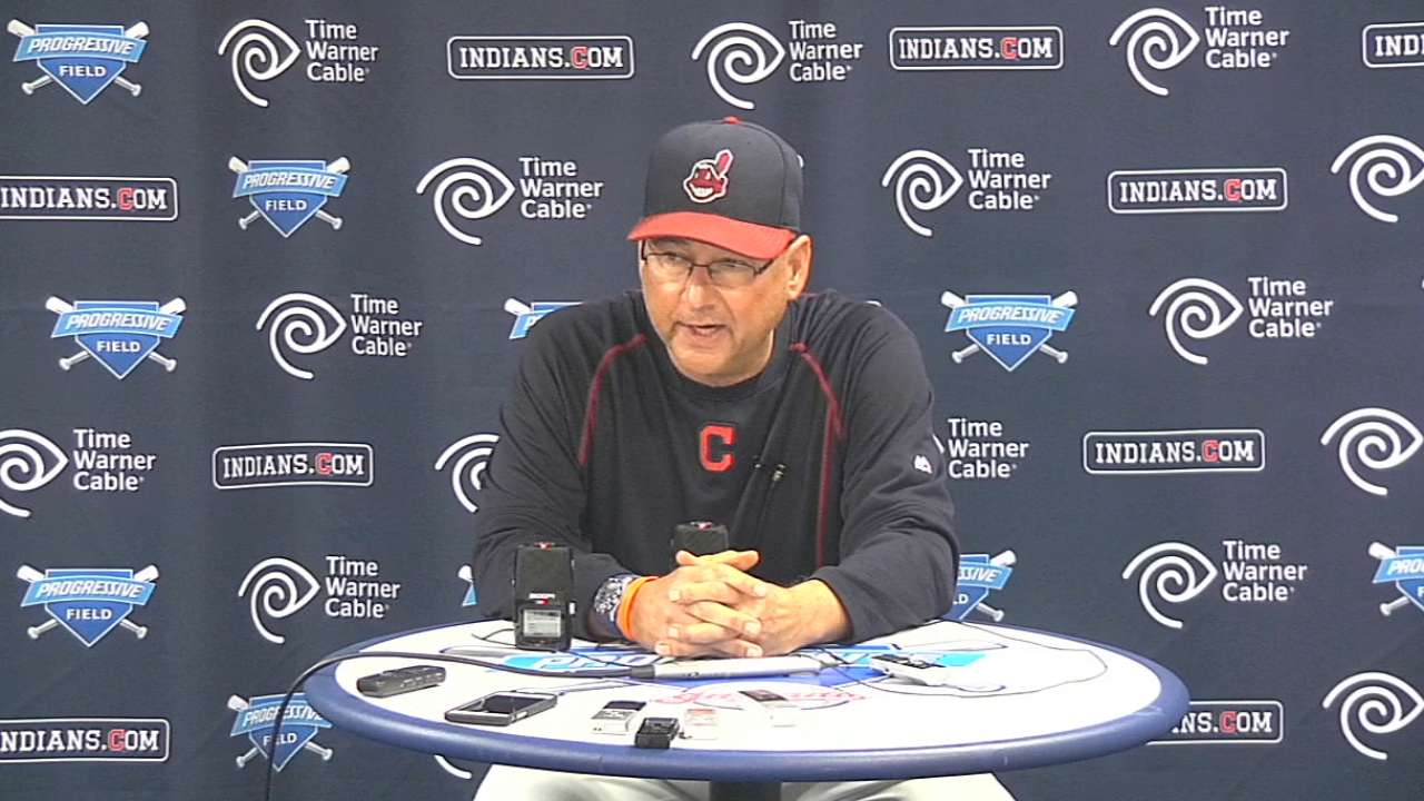 Francona on loss to Tigers