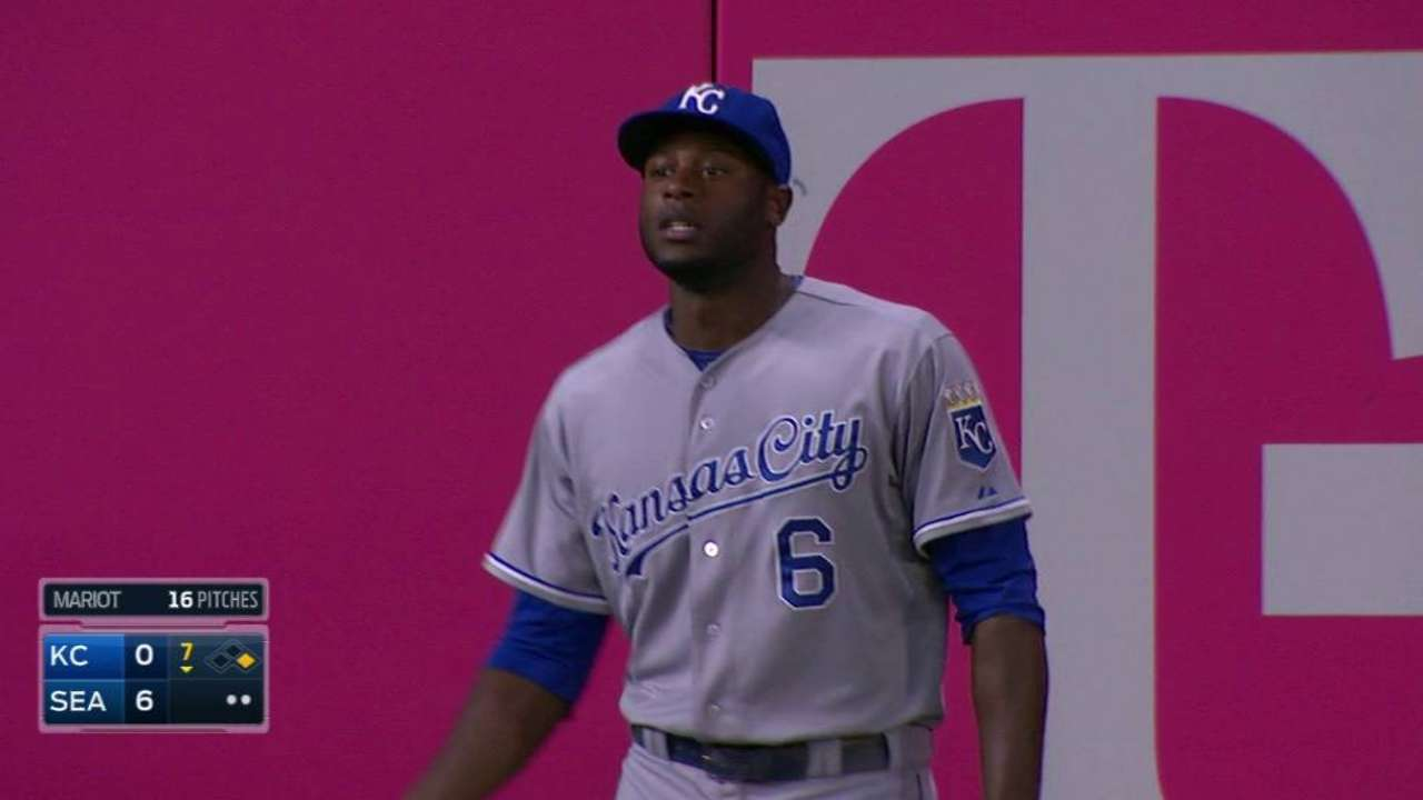 Cain out of lineup with mild hamstring injury