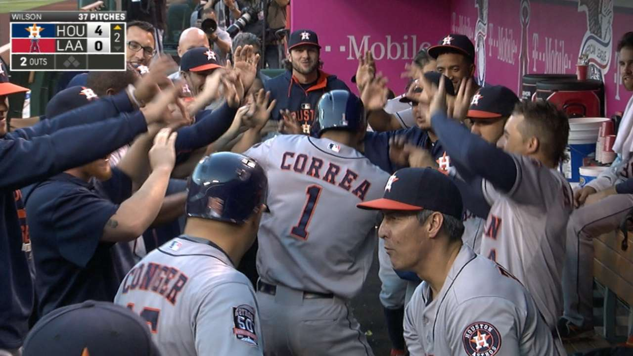 Stats of the Day: Correa wasting no time