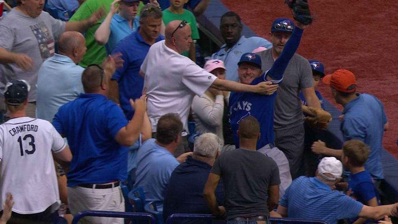 Donaldson's incredible catch