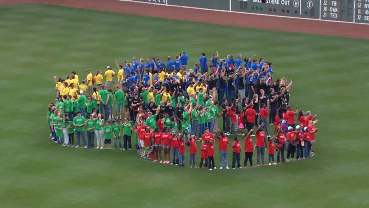 Sox honor Olympians as part of Boston 2024