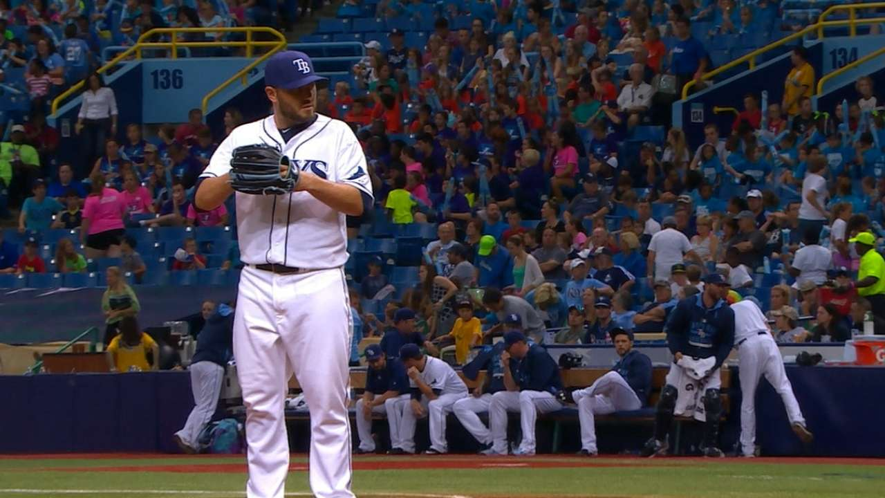 Rays relievers discuss trade possibilities