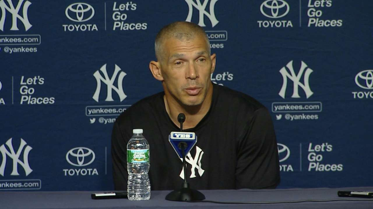 Girardi on Nova's return