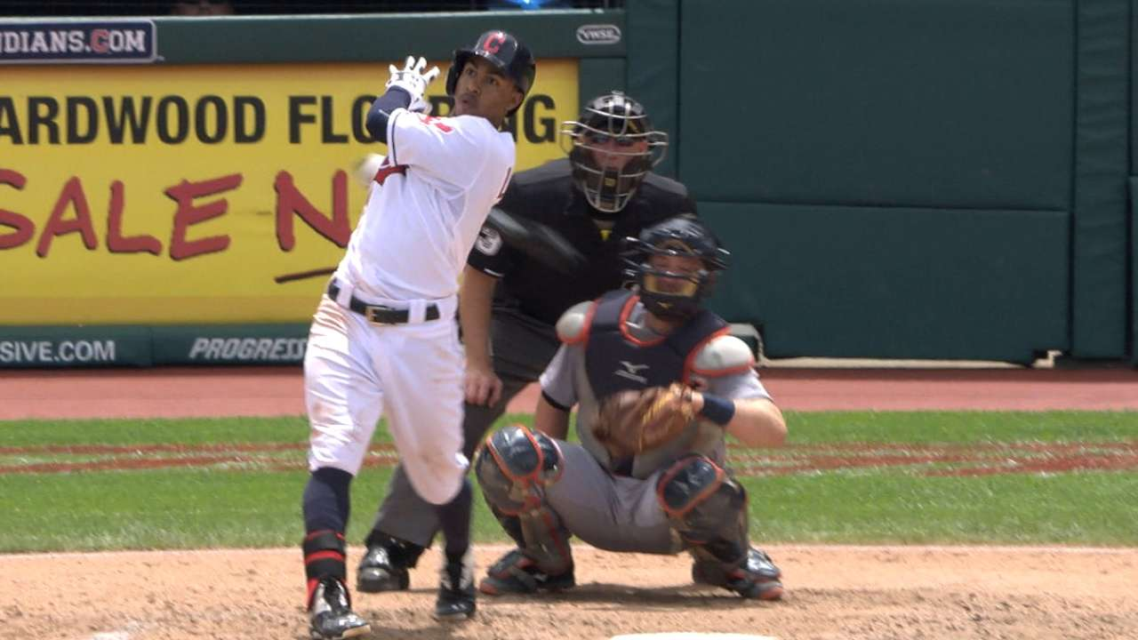Lindor, Tribe overpower Tigers to cap series